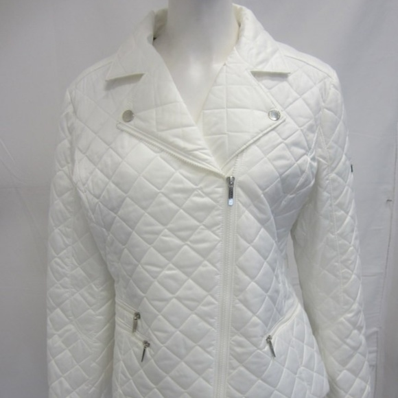 Laundry By Shelli Segal Jackets & Blazers - Laundry by Shelli Segal White Quilted Jacket XL